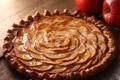 Картинка яблоки, пирог, аппетитный