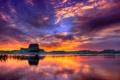 Картинка небо, скала, Аризона, Юта, США, озеро Пауэлл, каньон Глен
