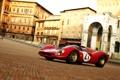 Картинка Город, Ретро, Спорт, Ferrari, Суперкар, Sport, 330