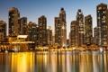 Картинка Golden Reflections, Dubai, United Arab Emirates