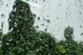 Картинка стекло, капли, макро, дождь, Akela White