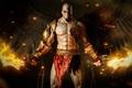 Картинка огонь, крылья, god of war