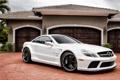 Картинка белый, дом, Mercedes-Benz, Мерседес, суперкар, AMG, передок