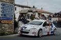 Картинка Город, Белый, Улица, Люди, Peugeot, WRC, Rally