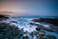 Картинка камни, океан, побережье, Гавайи, Hawaii
