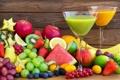 Картинка juice, fruits, сок, fresh, фрукты, ягоды