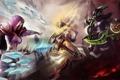 Картинка Illidan, Warcraft, blizzard, diablo, wow, hots, Jaina Proudmoore