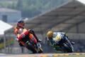 Картинка скорость, Гонка, Трасса, Honda, Yamaha, MotoGP, Valentino Rossi