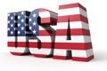 Картинка USA, ФОН, БЕЛЫЙ, ЗВЁЗДЫ, БУКВЫ, ФЛАГ