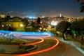 Картинка ночь, огни, Калифорния, Сан-Франциско, night, California, San Francisco