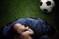 Картинка настроение, мяч, младенец