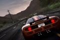 Картинка дорога, горы, ночь, тачка, Hot Pursuit, eed For Speed