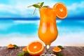 Картинка cocktail, drink, fresh, tropical, summer, orange, fruit