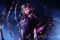 Картинка взгляд, девушка, крылья, зверь, art, Sarah Kerrigan, Heroes of the Storm