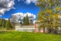 Картинка облака, дерево, Schlosspark Wilhelmshöhe