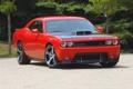 Картинка Красный, Авто, Капот, Dodge, Фары, challenger, srt10