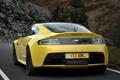 Картинка дорога, машина, Aston Martin, road, задок, V12 Vantage S
