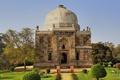 Картинка здание, Индия, архитектура, Дели, India, Лоди сады, Богато гробницы