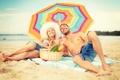 Картинка пляж, лето, отдых, summer, beach, vacation, влюбленная пара