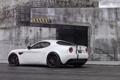 Картинка белый, фон, тюнинг, Alfa Romeo, суперкар, вид сзади, tuning