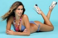 Картинка купальник, девушка, украшение, Melissa Satta