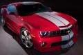 Картинка красный, Chevrolet, Camaro, Red