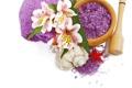 Картинка цветы, лилии, relax, flowers, спа, lily, spa