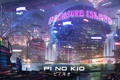 Картинка ночь, город, река, фантастика, мегаполис, sci-fi, cyberpunk