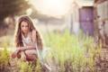 Картинка волосы, девочка, боке, Lenna, Dina Telhami