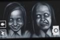 Картинка девушки, лица, horror, fan art, ksushow, dreadout