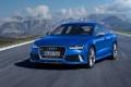 Картинка синий, Audi, ауди, седан, RS 7