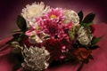 Картинка цветы, фон, букет, ткань