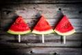 Картинка палочки, арбуз, ломтики, water melon