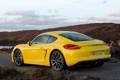 Картинка car, желтый, Porsche, yellow, Cayman S
