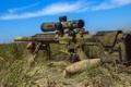 Картинка оружие, фон, M240
