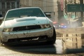 Картинка трасса, грязь, Автомобиль, копы, Ford Mustang Boss 302, Need for Speed Most Wanted - Limited ...