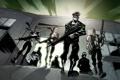 Картинка игра, арт, зомби, герои, Left 4 Dead