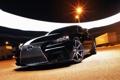 Картинка черный, Lexus, перед, black, 2014, IS250, лексес