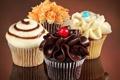 Картинка еда, пирожное, крем, десерт, кекс, кексы, cream