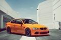 Картинка бмв, оранжевая, bmw m3, 1013mm