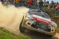 Картинка пыль, Ситроен, Citroen, DS3, ралли, WRC, зрители