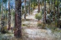 Картинка природа, лес, картина