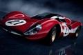Картинка авто, суперкар, красная, гоночная