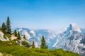 Картинка лес, пейзаж, горы, парк, Valley De Yosemite