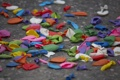 Картинка цвета, шары, тратуар