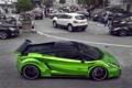 Картинка green, Lamborghini, gallardo, tuning, prior design, monaco, streent