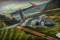 Картинка самолет, бой, выстрелы, aviation, авиа, MMO, Wargaming.net