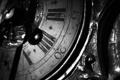 Картинка старина, часы, черно белое, циферблат