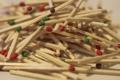 Картинка Спички, древесина, цветные спички