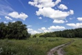 Картинка дорога, поле, пейзаж